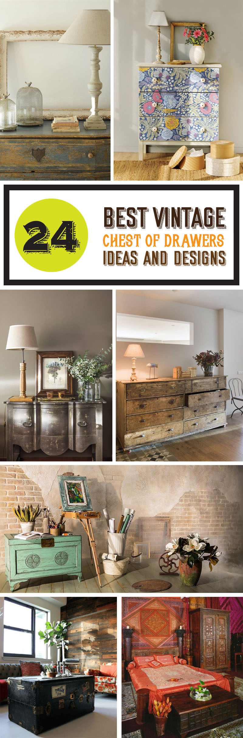 best vintage chest of drawers ideas