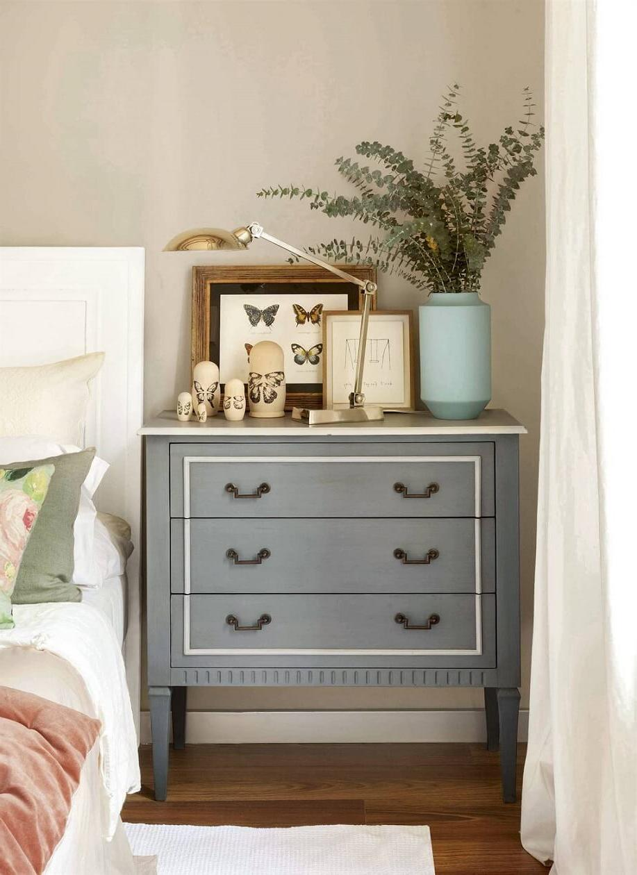 chest drawer as a dresser table