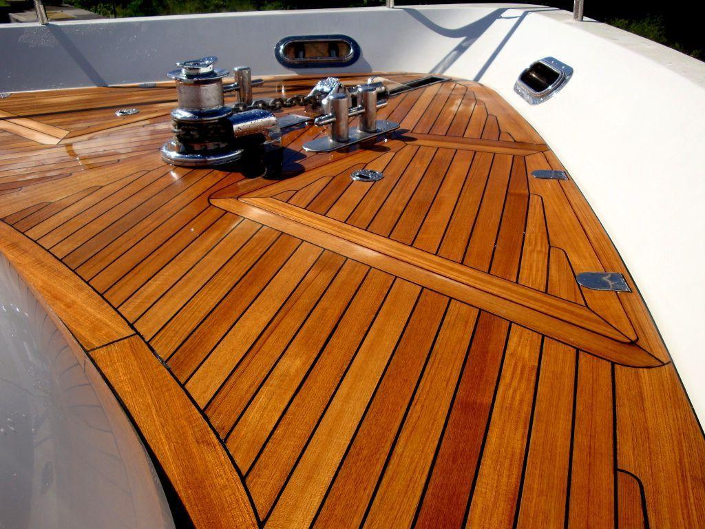 effective and practical deck from terrace board
