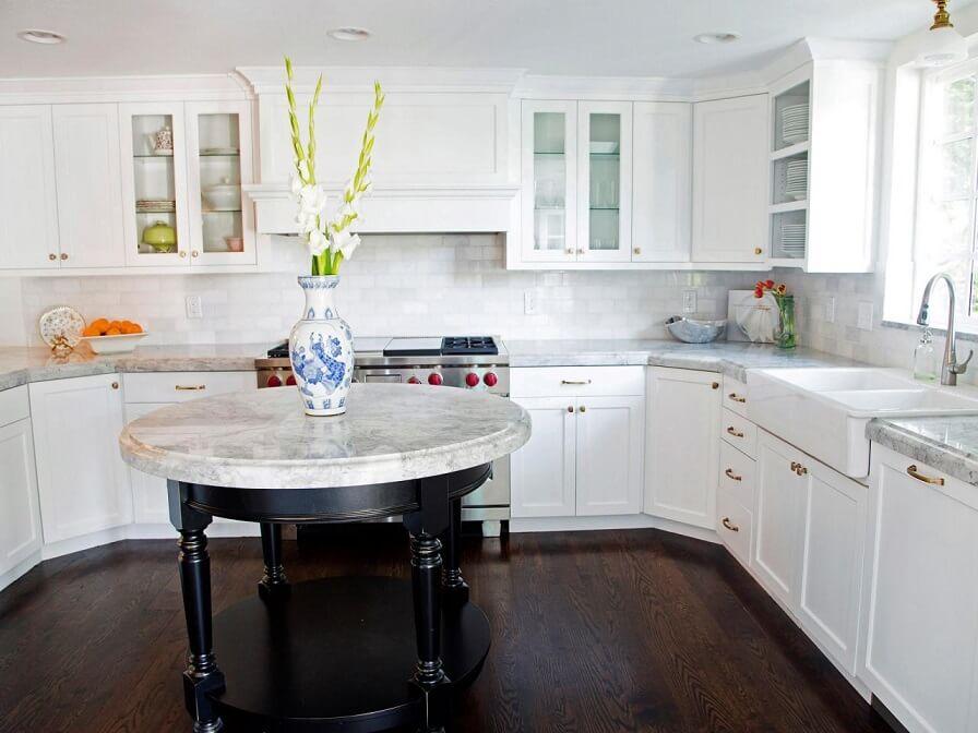 enameled kitchen cabinets