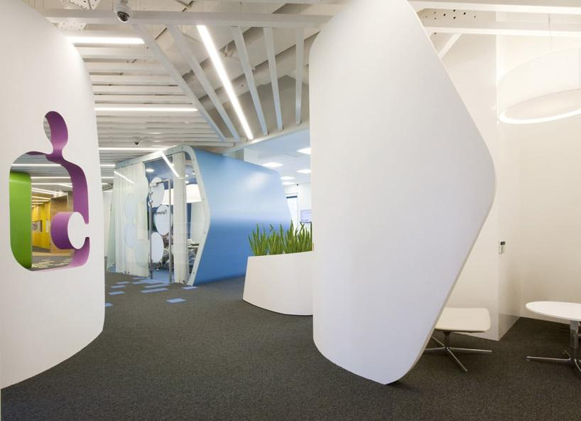 modern small office decoration