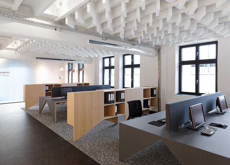 small open space office design