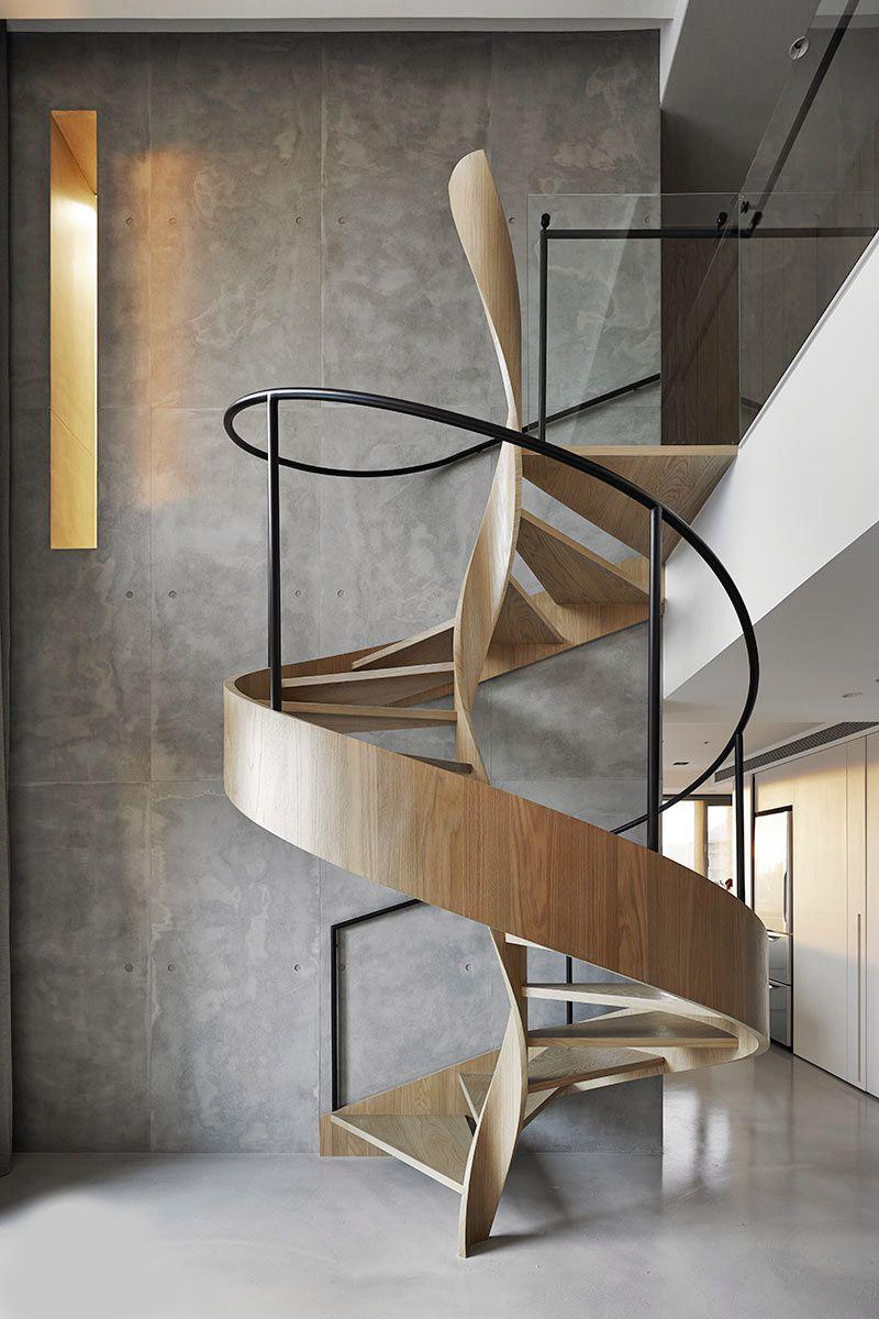 staircase must harmoniously and naturally fit into the overall stylistic concept of the room