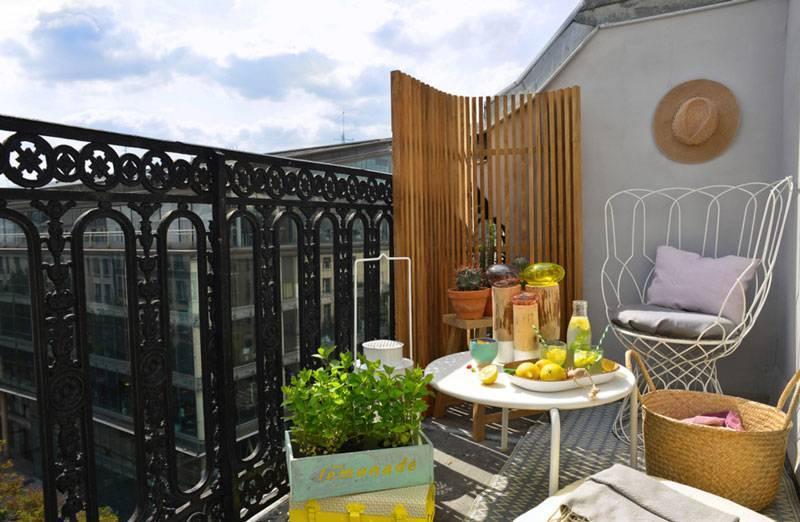 terrace board for small balcony