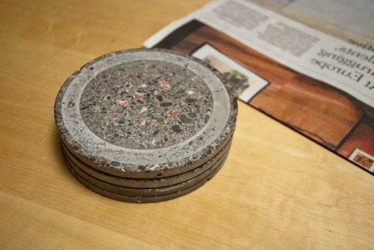 AWESOME CONCRETE COASTERS