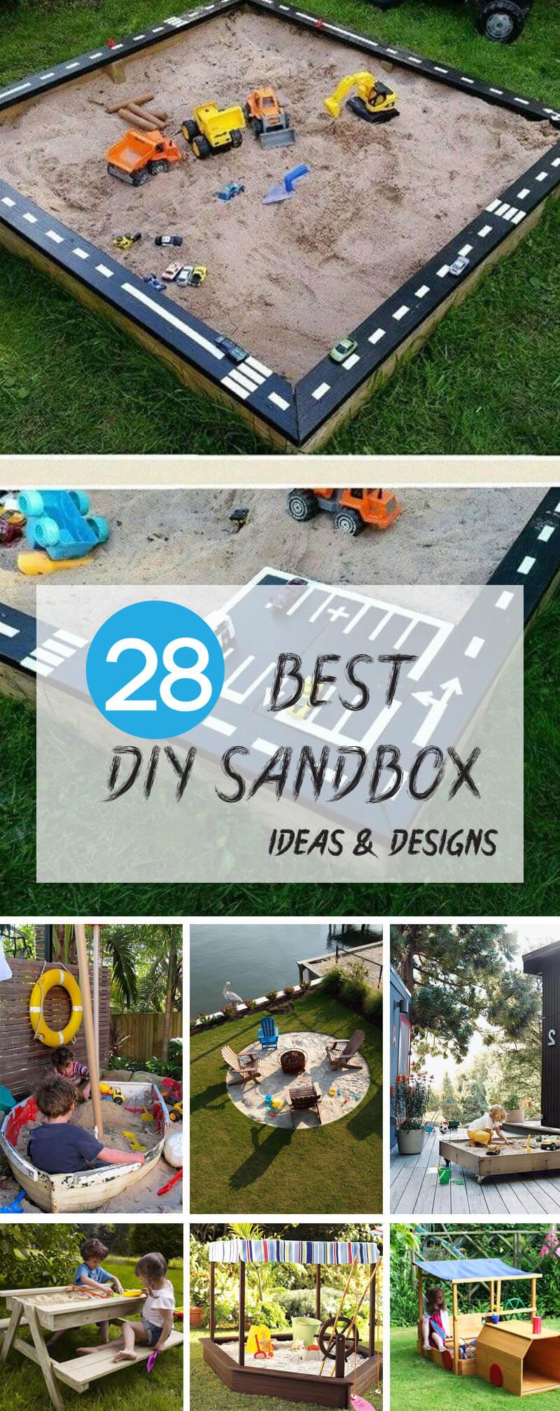 Best DIY Sandbox Ideas and Designs