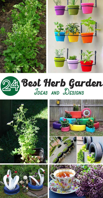 Best Herb Garden Ideas and Designs