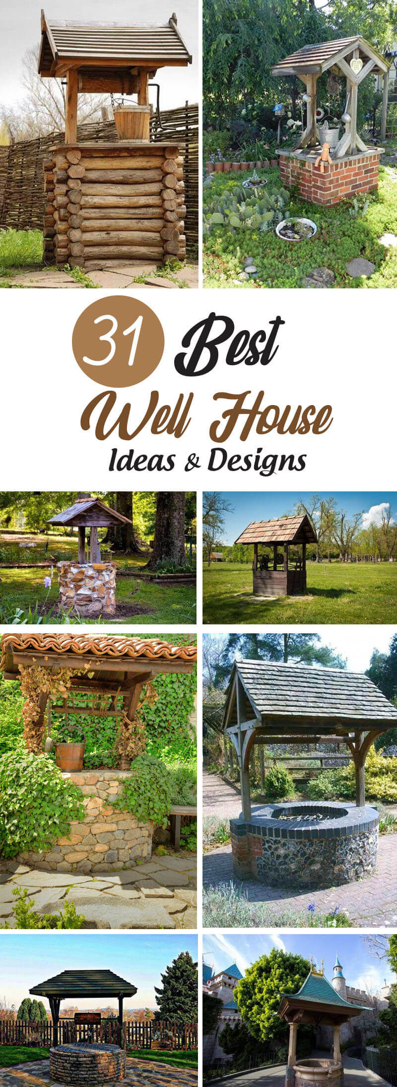 Best Well House Ideas