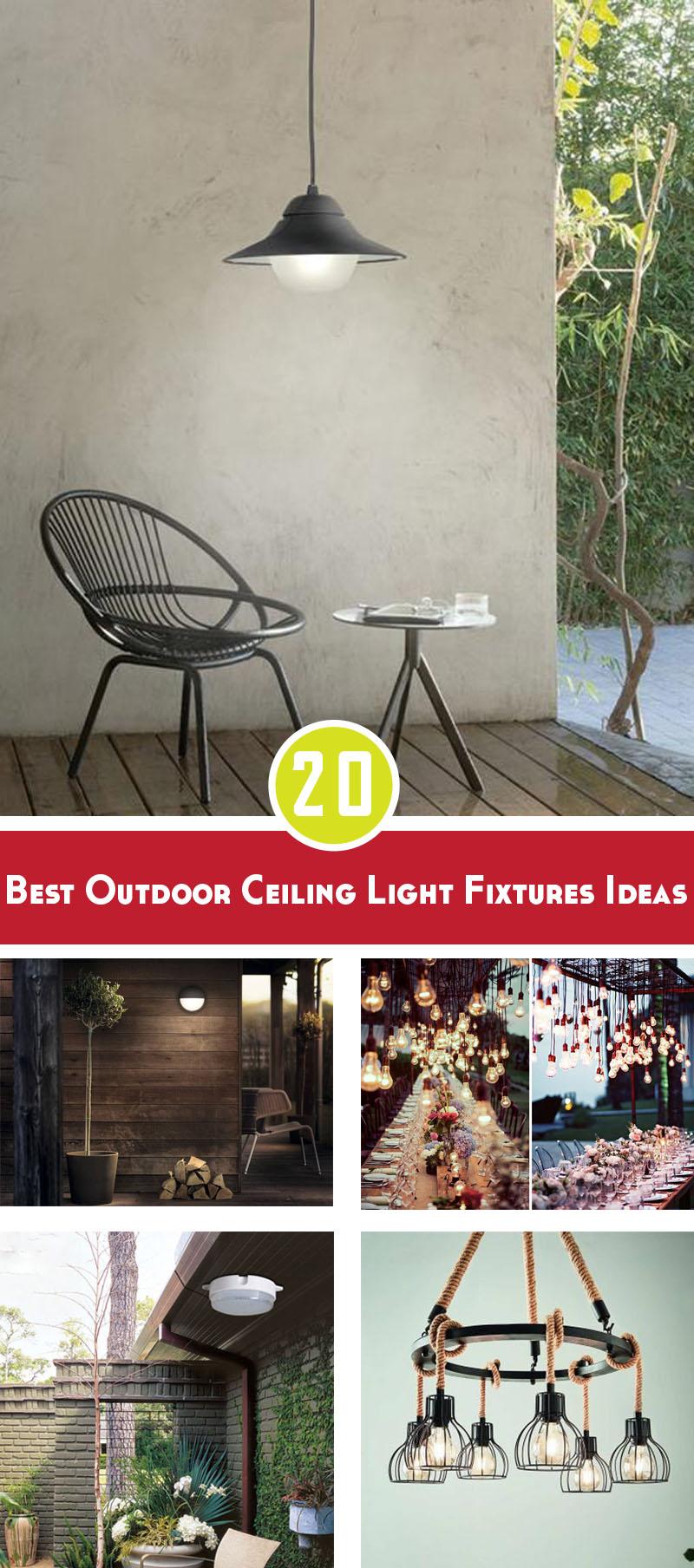 Best outdoor ceiling light fixtures ideas