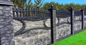 Concrete Fence Noteworthy fencing styles