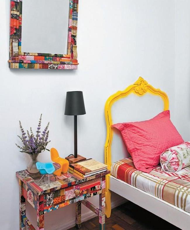 Furniture restoration creates a cozy and pleasant atmosphere in the house.
