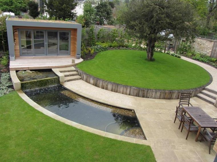 Garden ponds for spaces with modern design