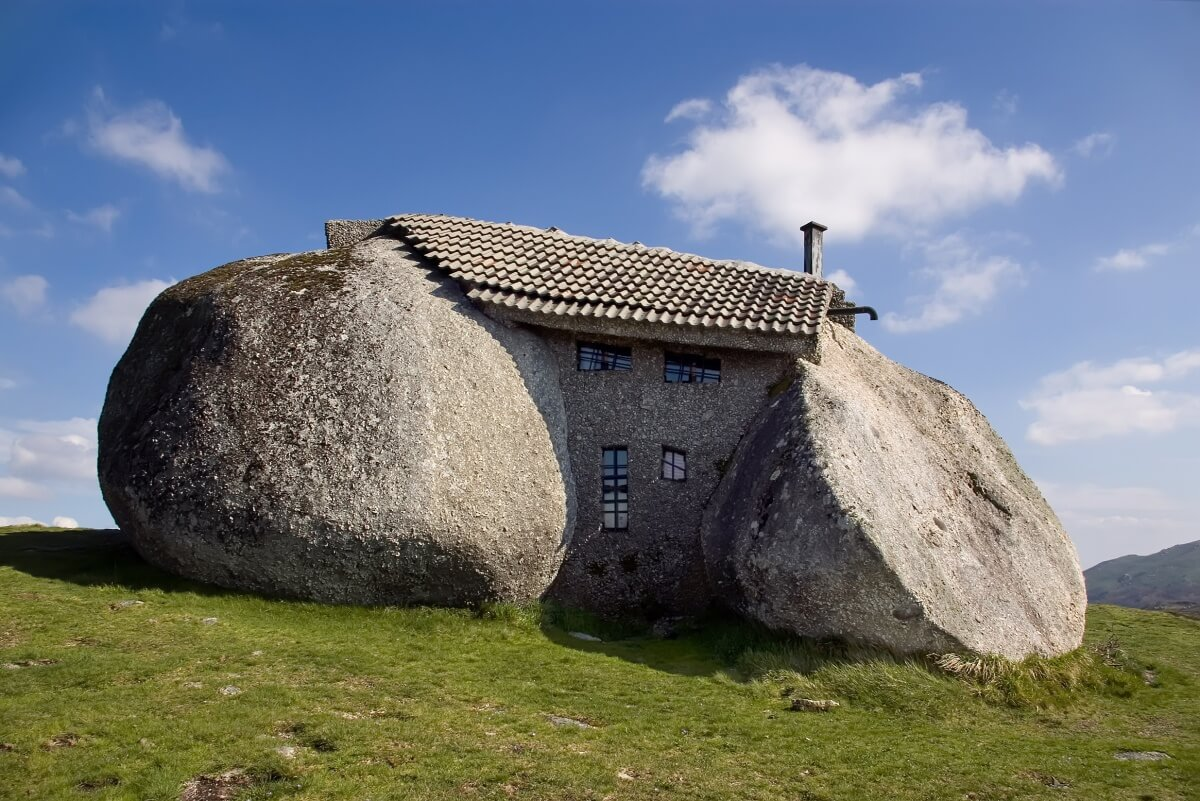 Home-stone in the north of Portugal1