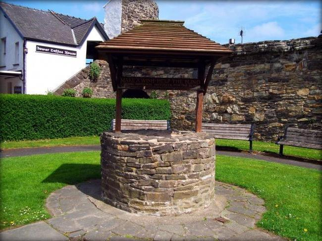 Houses for wells from a stone are especially well combined with other similarly issued buildings on a site