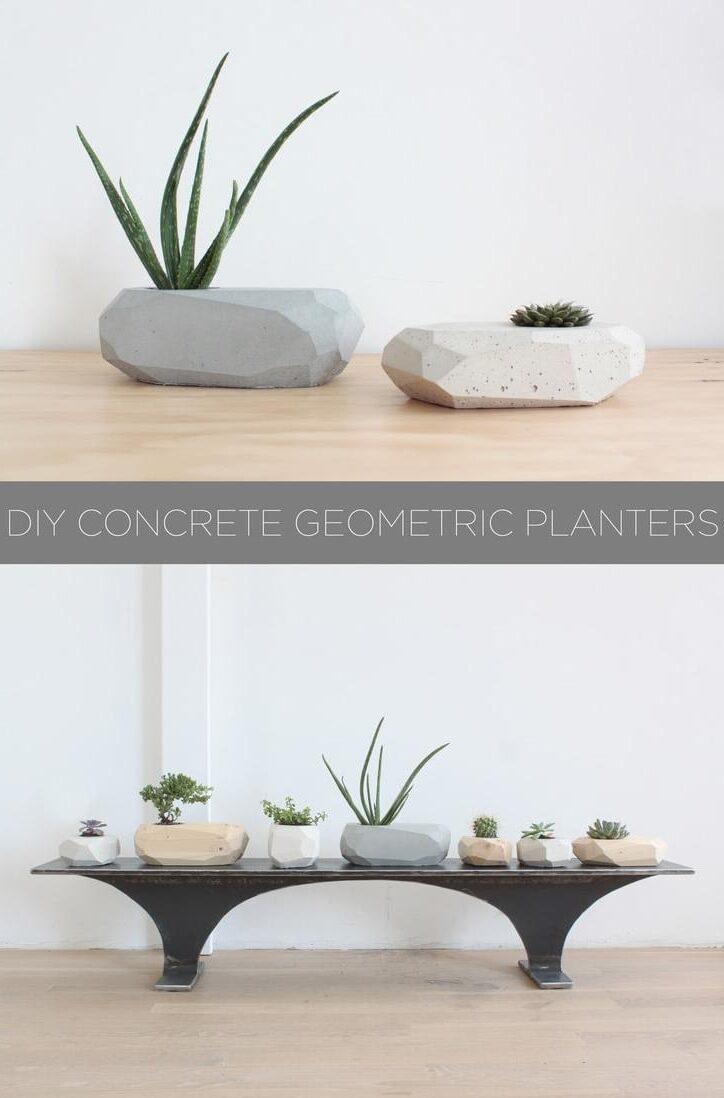 PLAYFUL GEOMETRIC PLANTERS