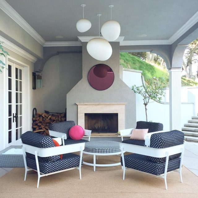 Playful Outdoor Space Ceiling Lights