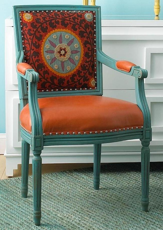 Restoration of a chair with leather upholstery