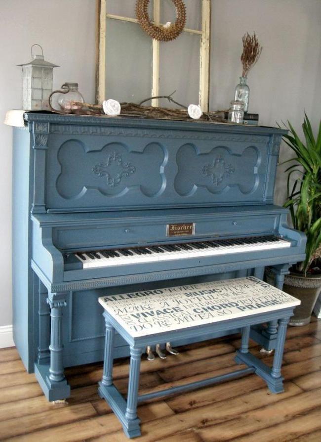 Restored Old Piano
