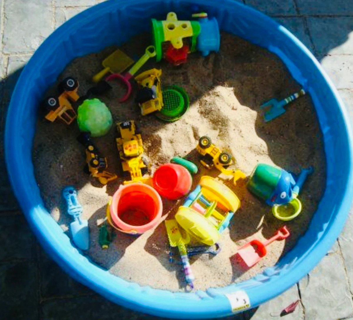 Sandbox from the pool