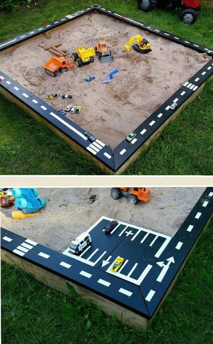 Simple sandbox and racing track