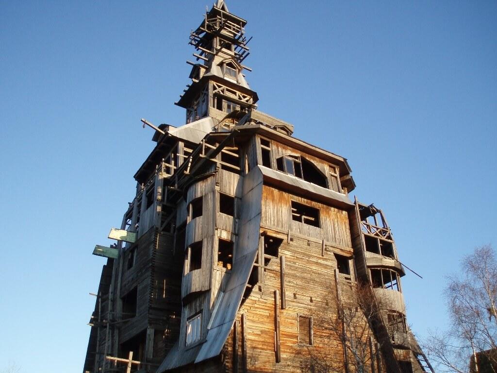 Sutyagin House in Russia