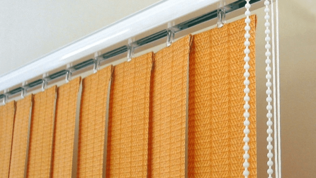 Vertical fabric blinds - the perfect window design for any room