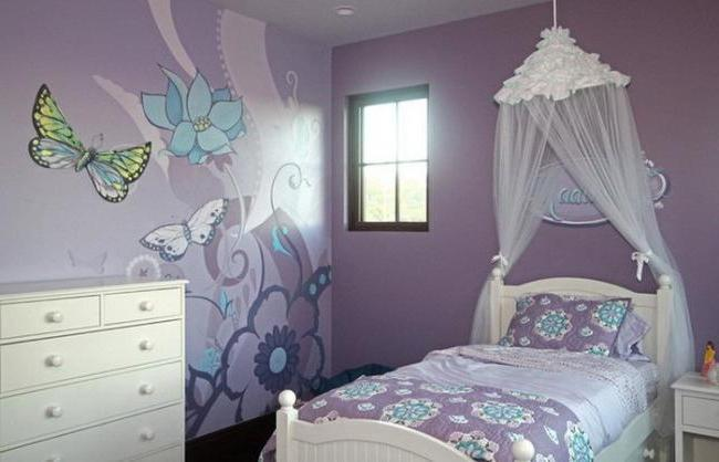 Wall decoration in the nursery