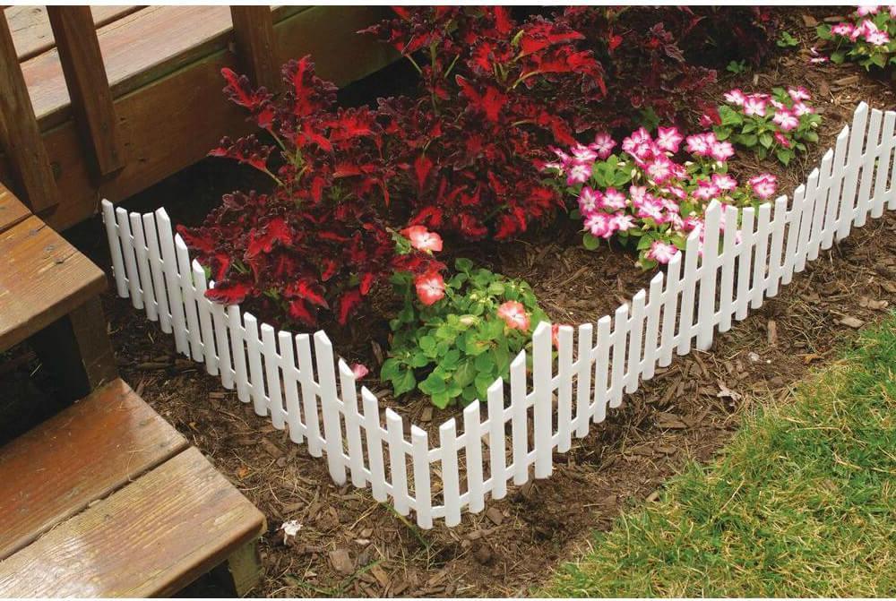 White Garden Fencing styles