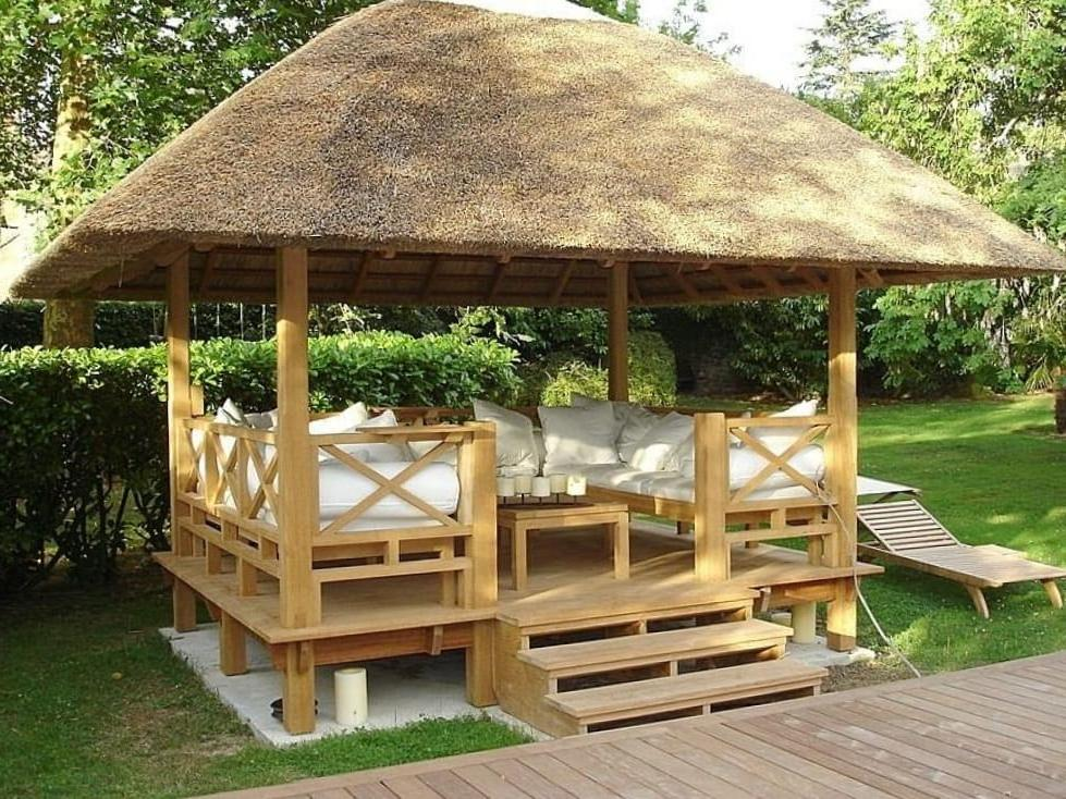 having added a soft arbor you can make the rest in it more pleasant.