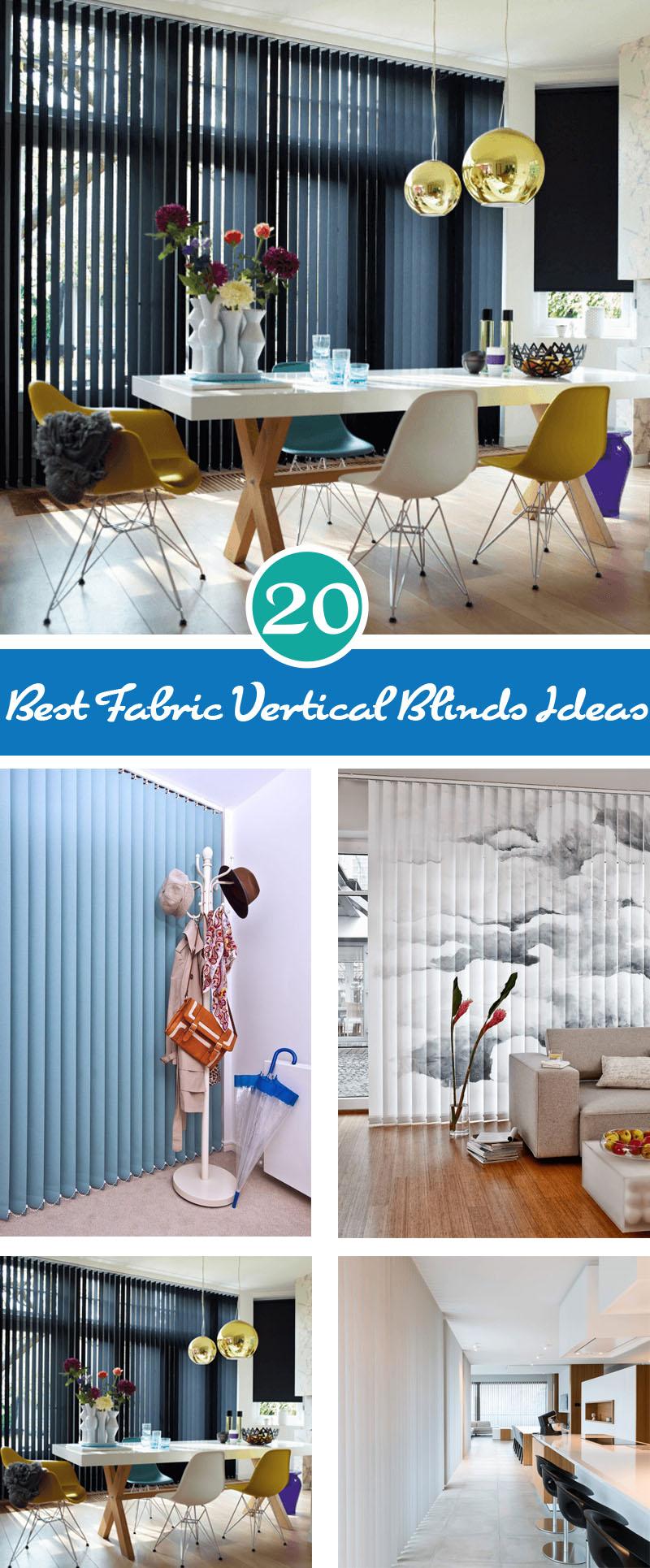 best fabric vertical blinds ideas