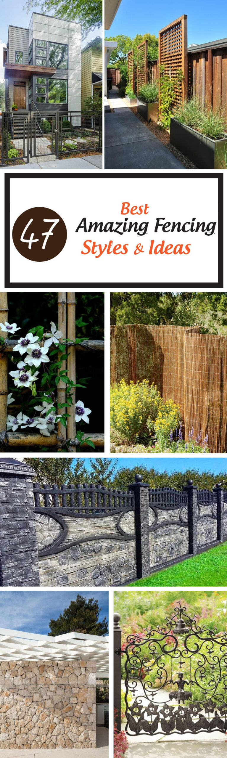 best fencing styles and ideas