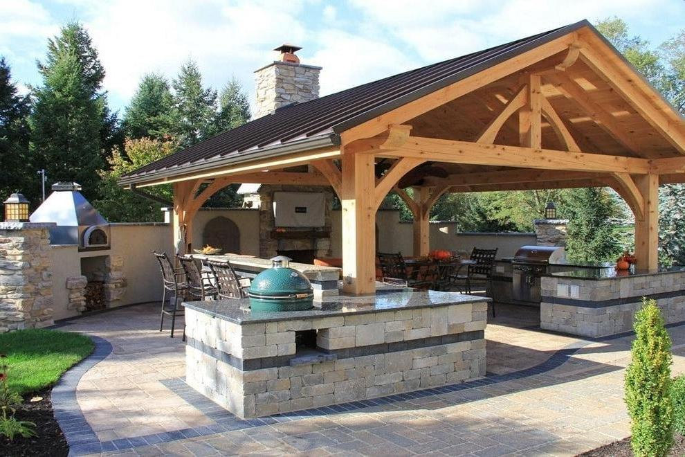 gazebo with a place for cooking, you will need a quality chimney