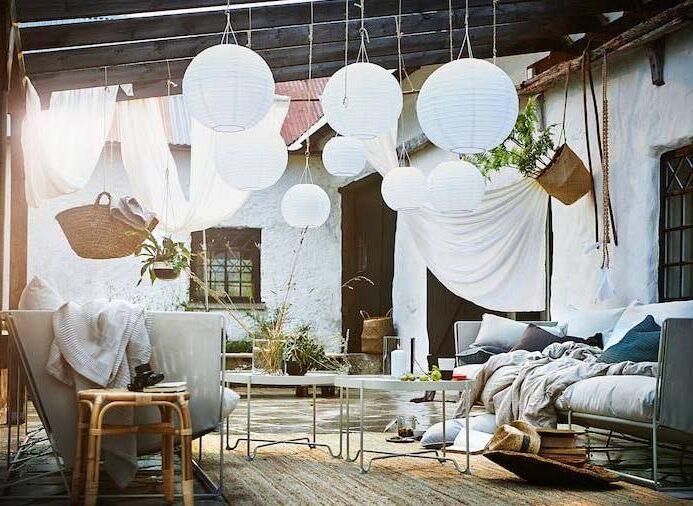 outdoor patio ceiling lights