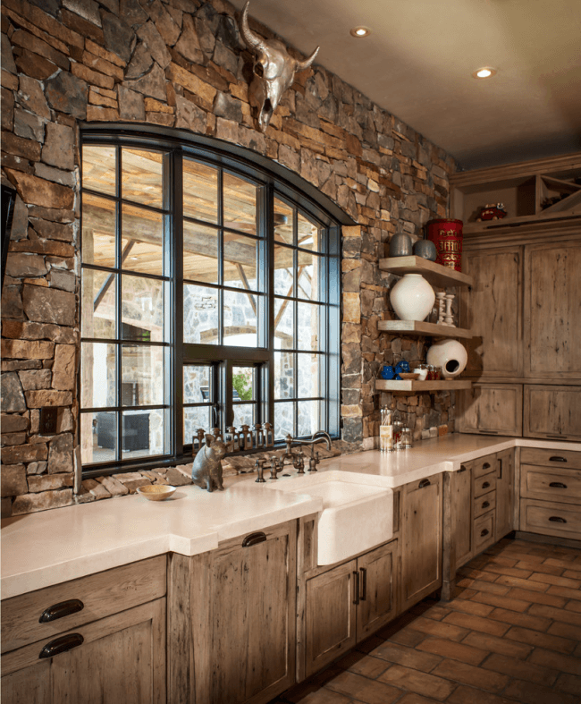 Refined and sublime rustic style