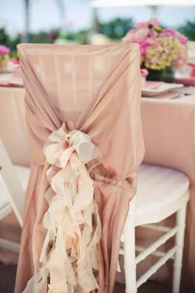 Airy textiles - a relevant option for autumn and summer celebrations