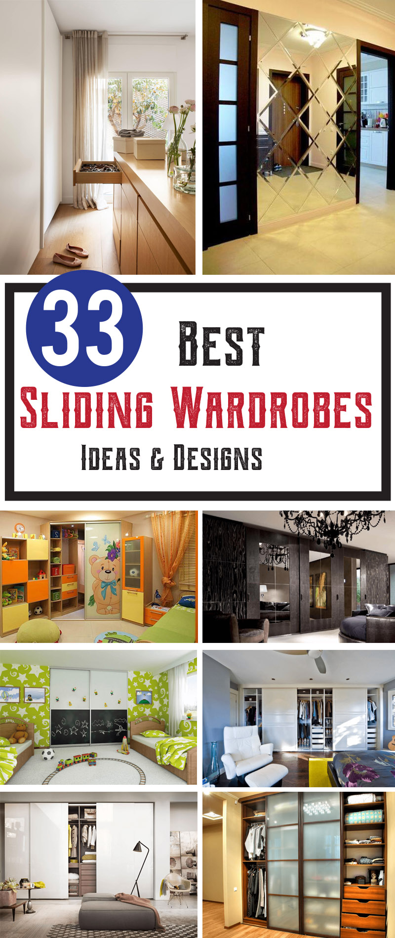 Best sliding wardrobes ideas and designs