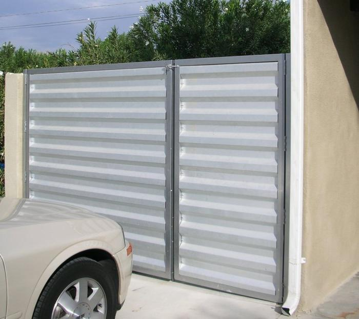 Cheap Corrugated Metal Fence Gate