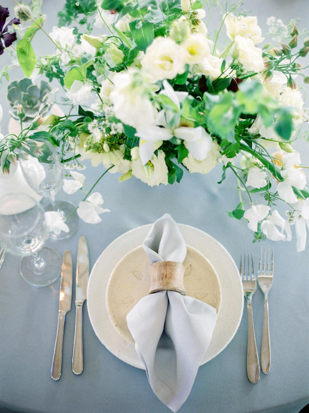 Classic wedding with European seating