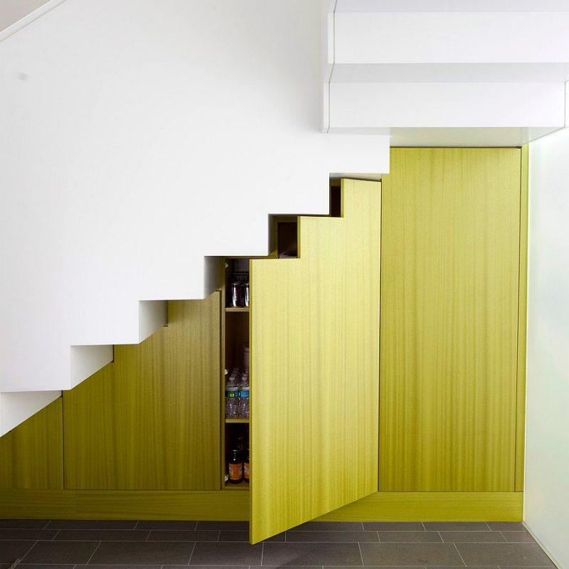 Concealed Doors In The Staircase