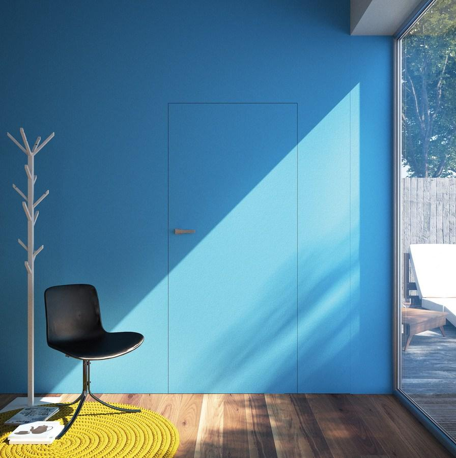 Concealed door in modern style
