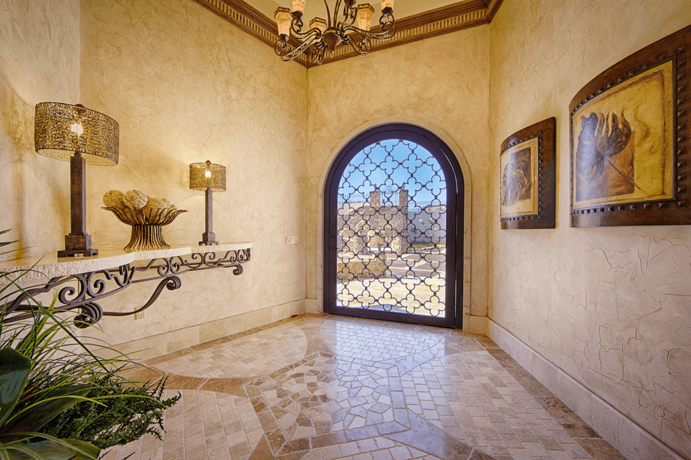 Forged doors are a design element that simply cannot go out of fashion