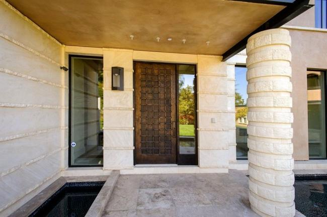 High-quality steel door will provide thermal and sound insulation of the room