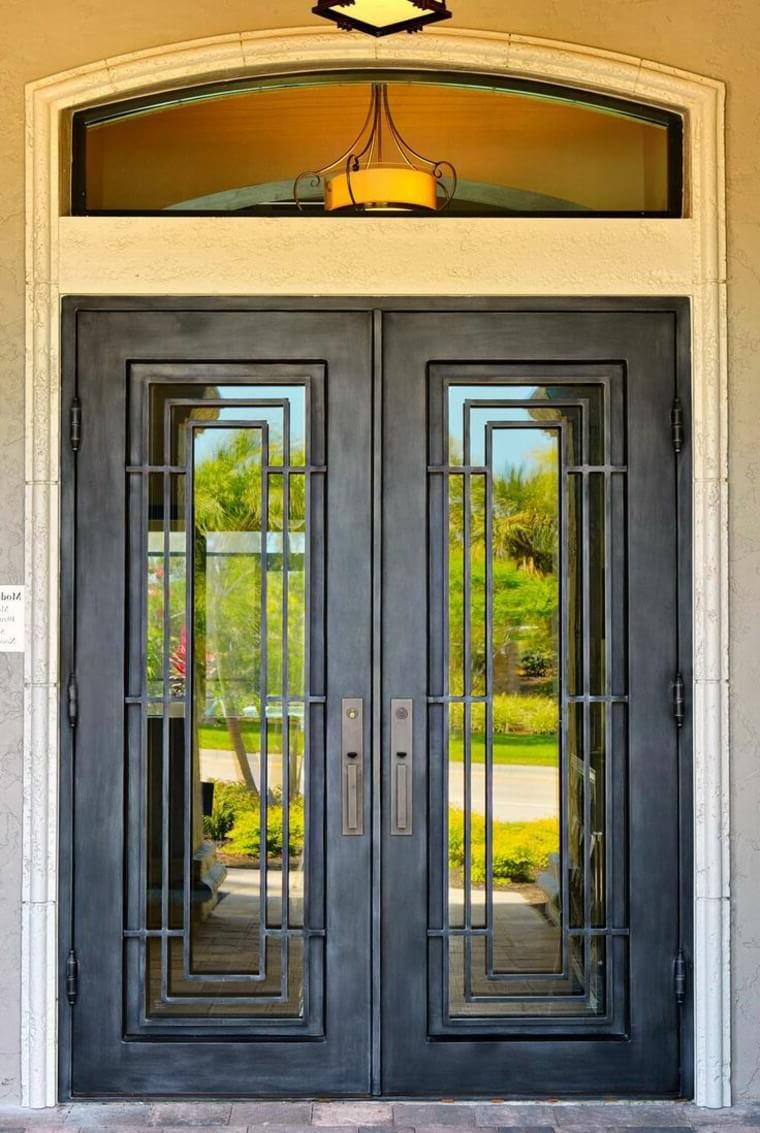 Modern blacksmith doors a work of art