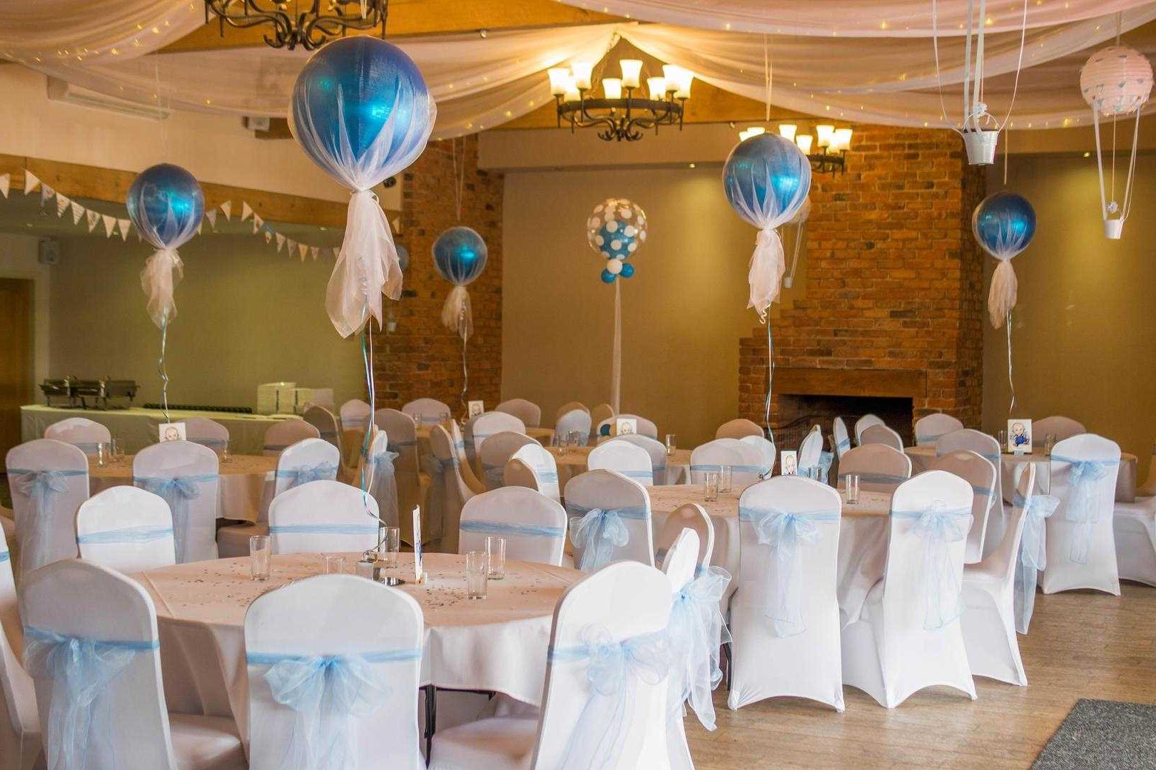 Option of a decorated wedding hall