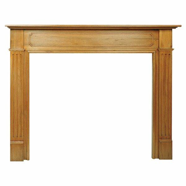 Premade Slender Timber Mantelpiece