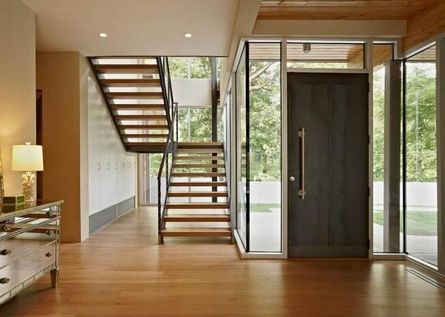 Steel door will perfectly fit into your interior