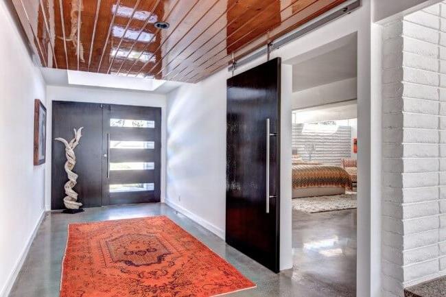 Stylish steel door