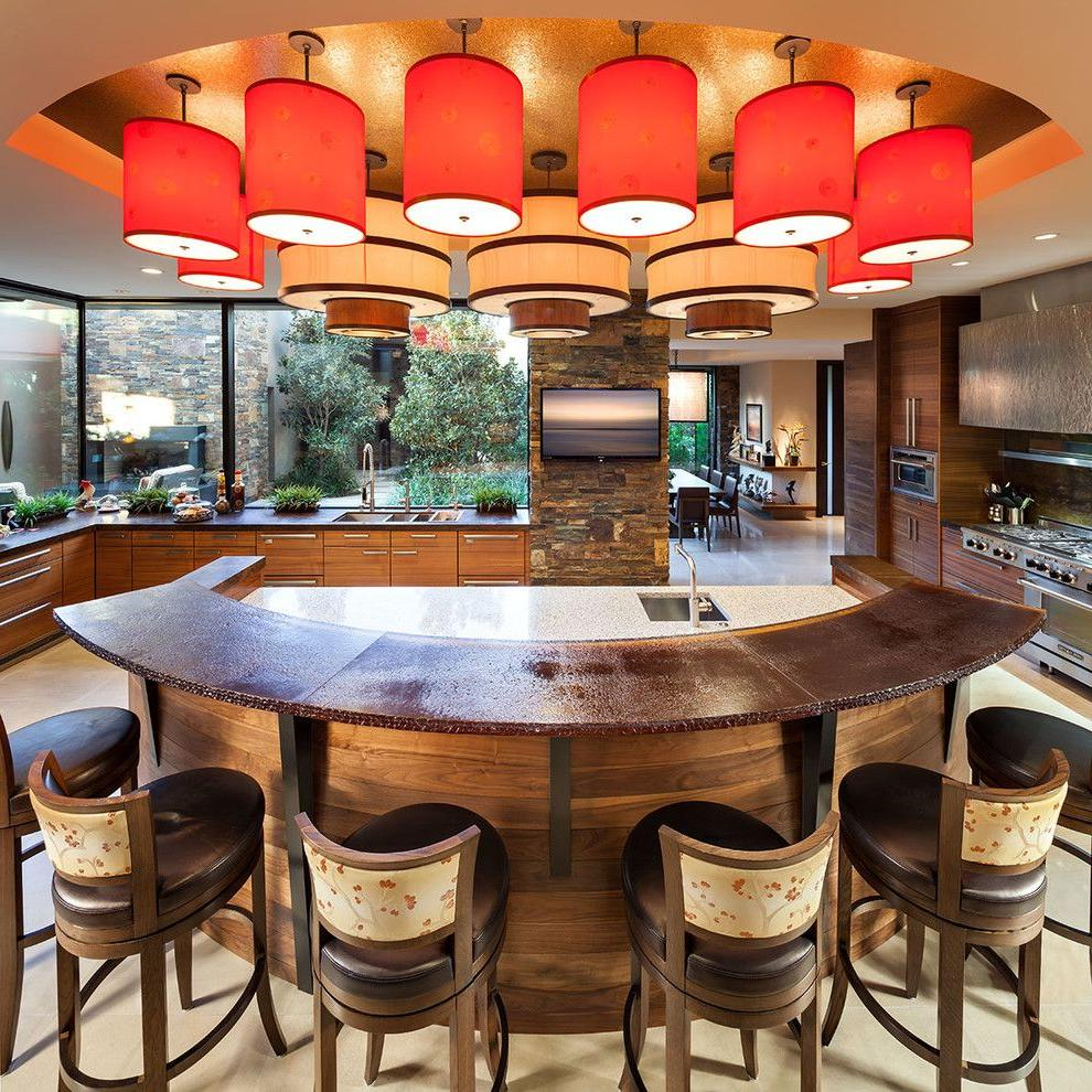 These chandeliers provide soft LED lighting with high color rendering, insensitive to voltage surges