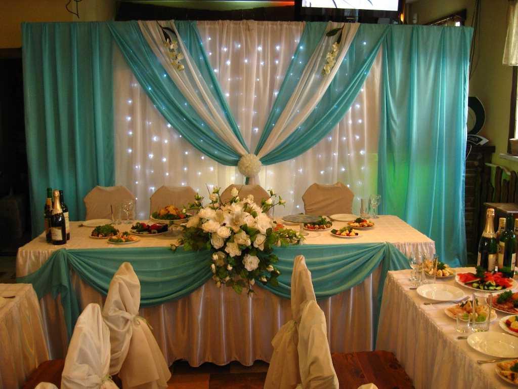 Wedding hall in a chic design