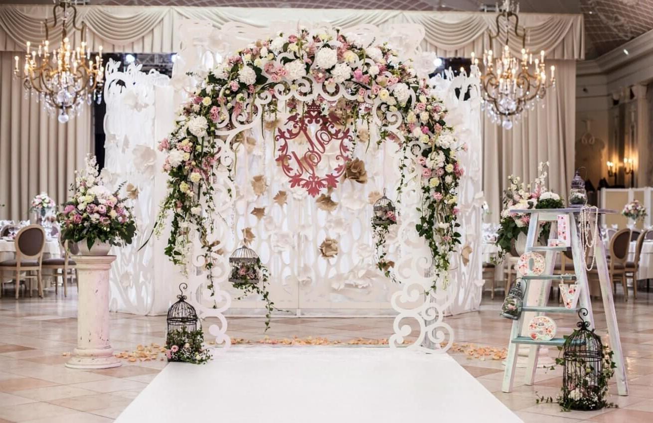 Wedding photo zone